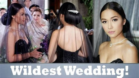 Black Wedding Gown ni Ivy Aguas (Maja Salvador) sa Wild