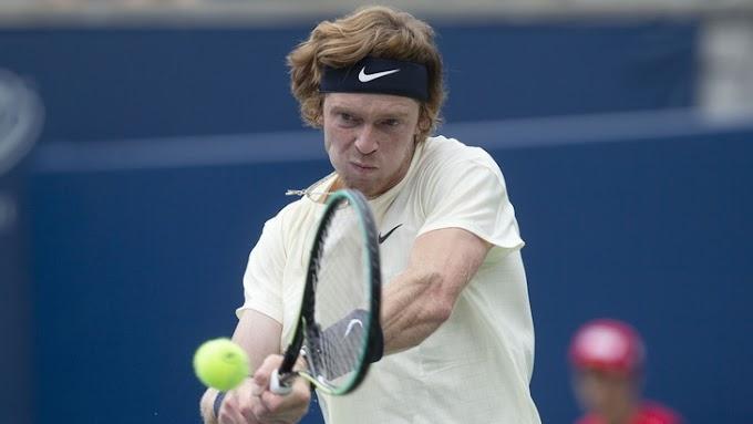Рублев на двух тай-брейках победил Монфиса в Цинциннати — Теннис