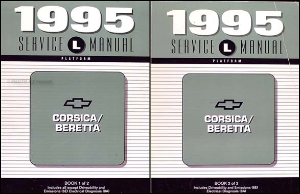 1995 Chevrolet Corsica And Beretta Repair Shop Manual Set 95 Chevy Service Z26 Ebay