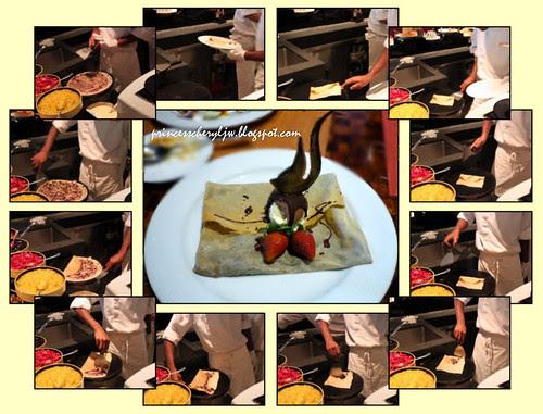 spice market pancake making