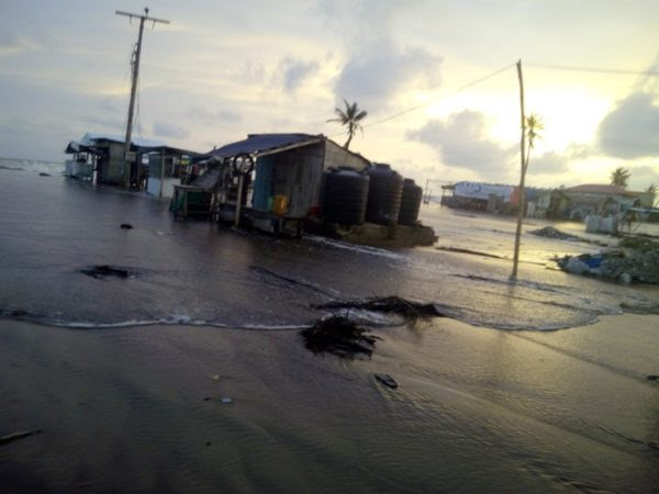Flood in Alpha Beach 5