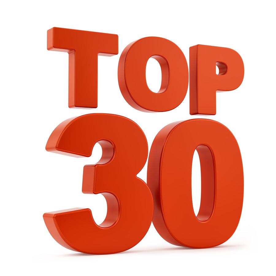 Resultado de imagem para top 30