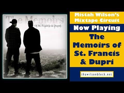 Memoirs of St. Francis & Dupri mixtape by Poets Lounge (Part 1)