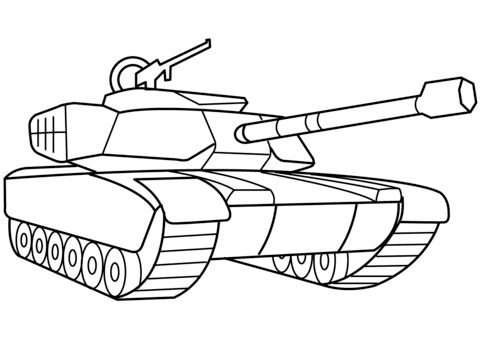 54 Top Coloring Pages Military Tanks For Free