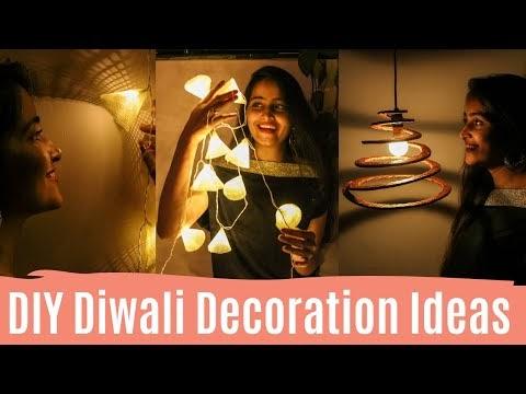 DIY Diwali Decoration Ideas / DIY Diwali Home Decor Ideas | Dhara Patel