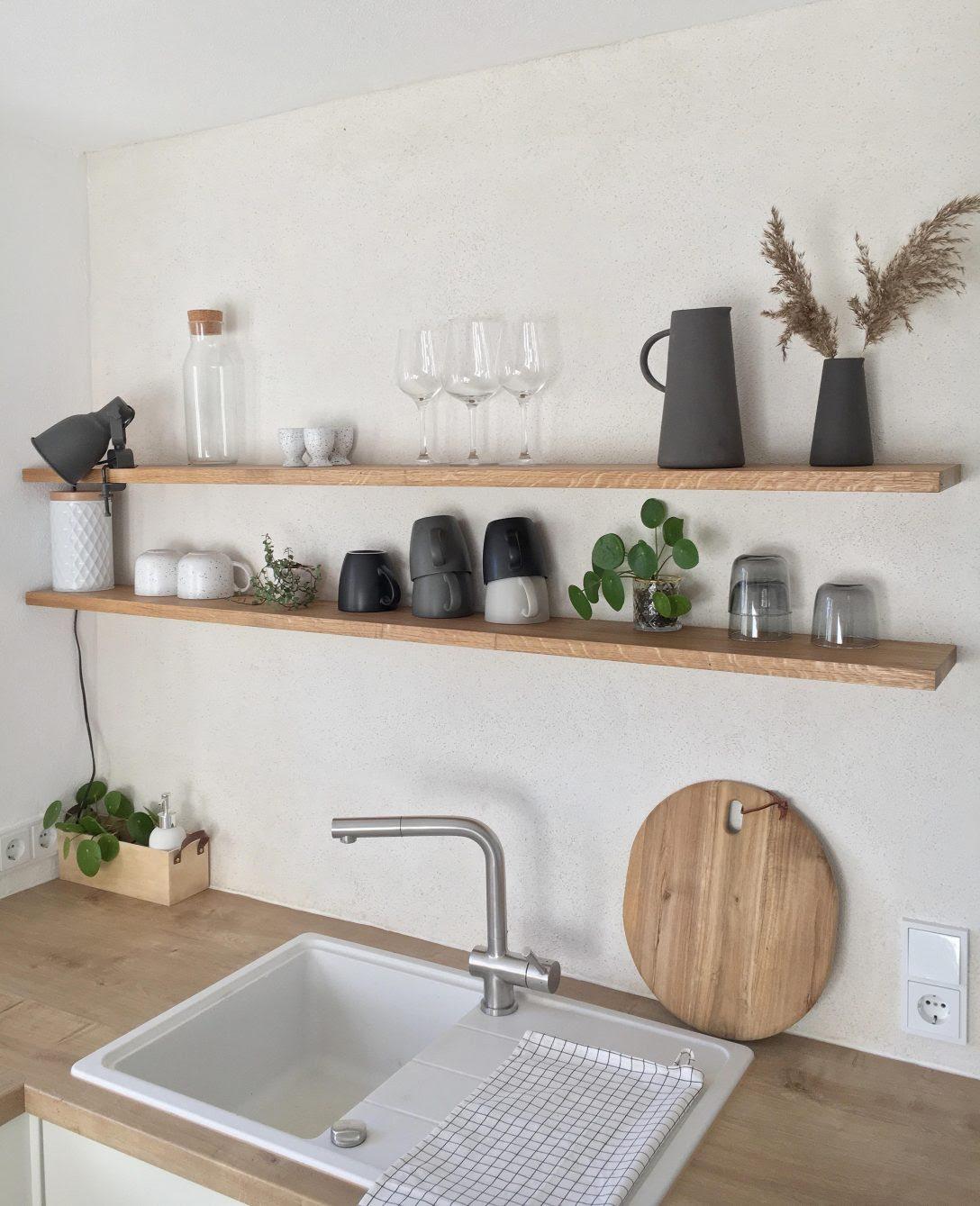 Ikea Wandregal Weiss Metall Zuhause