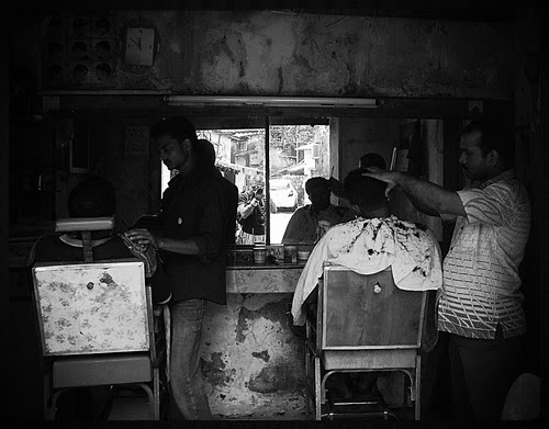 Bhhaiya Barbers of Bandra by firoze shakir photographerno1