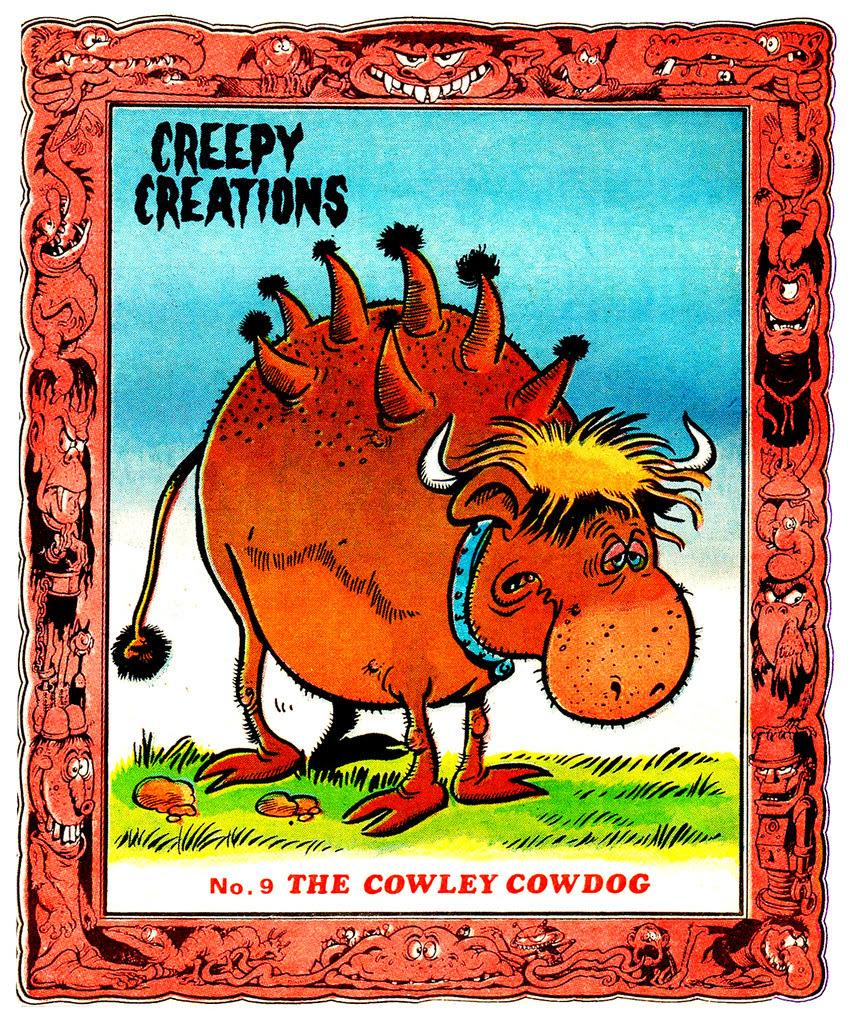 Creepy Creations No.09 - The Cowley Cowdog