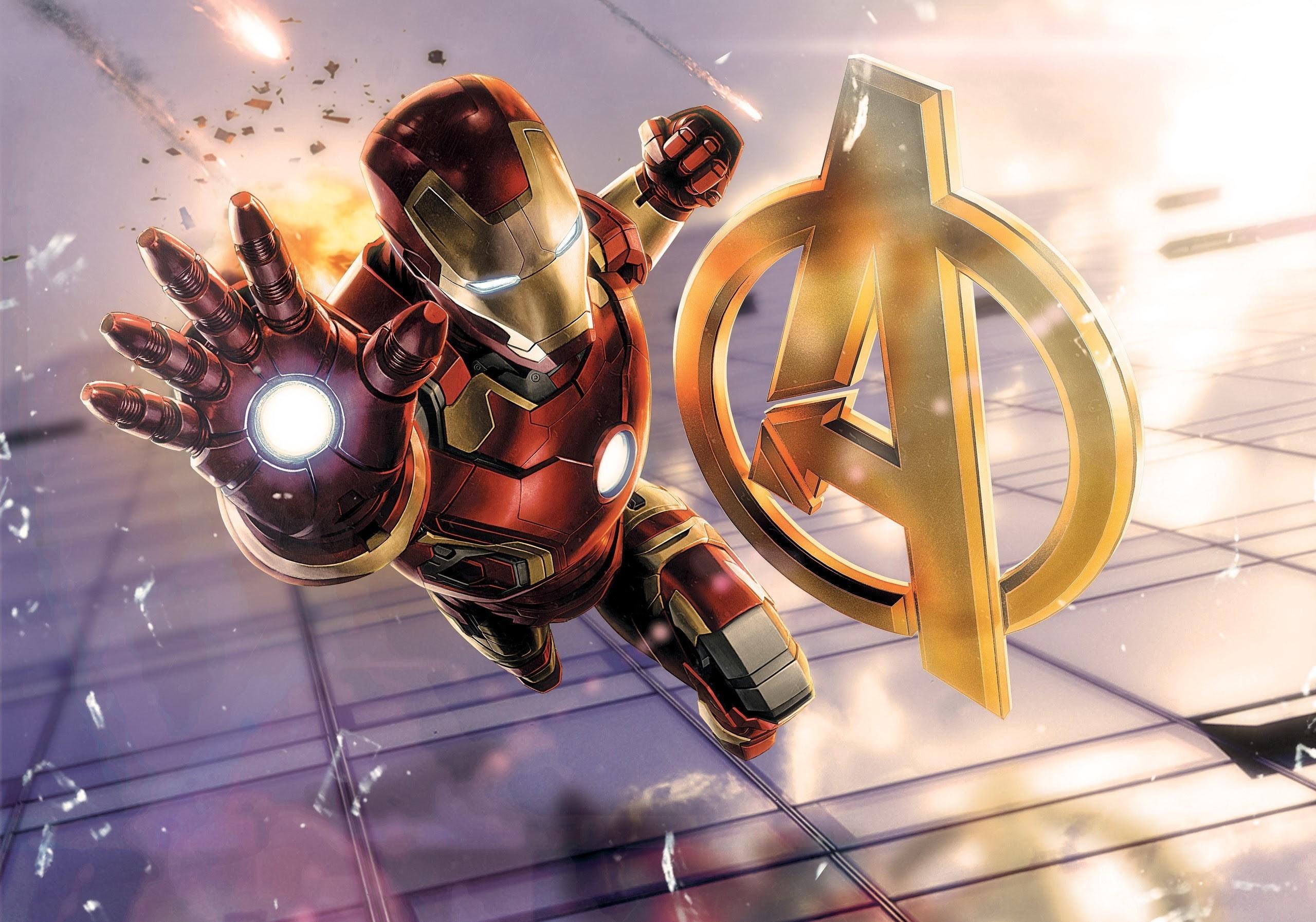 Download Wallpaper Avengers Iron Man Hd Cikimmcom