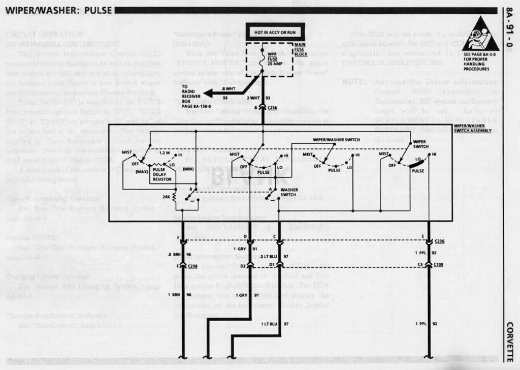 Wiper Wiring Diagram Corvetteforum Chevrolet Corvette Forum Discussion