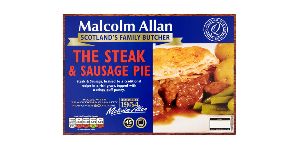 Family steak and sausage pie | Malcolm Allan