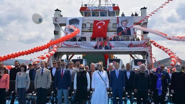 Balıkesir Haberleri Temsili Bandırma Vapurunda 19 Mayıs Yerel