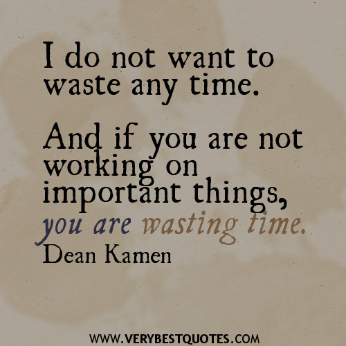 Quotes About Time Not Being Wasted 41 Quotes