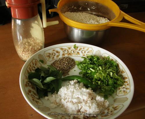 Varai - ingredients