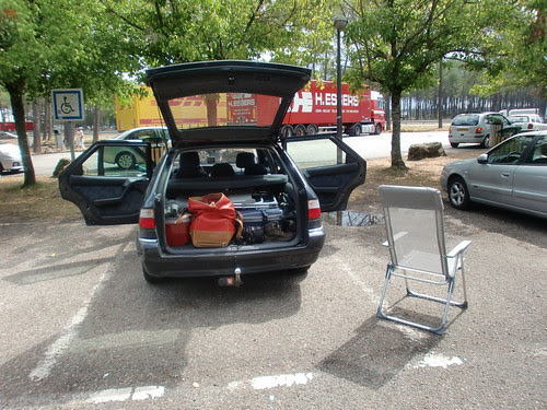 Citroën op rustplaats