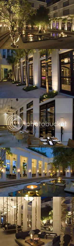 hotel de la paix courtyard