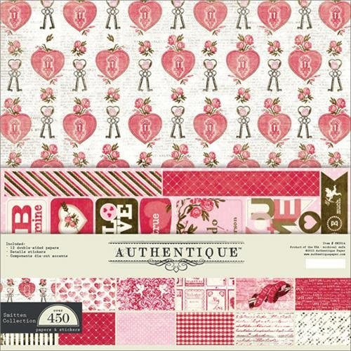 Authentique Paper Smitten Collection Kit 12X12
