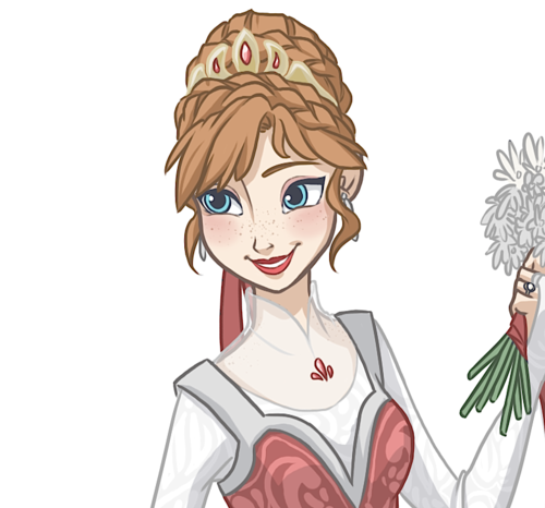 Frozen wallpaper with anime entitled Anna