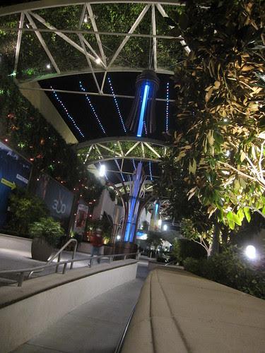 In Anaheim! Garden Walk! 4
