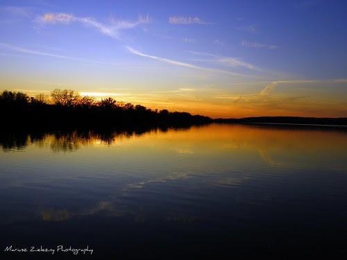 Saganashkee Slough sunset, Palos Hills IL (2)