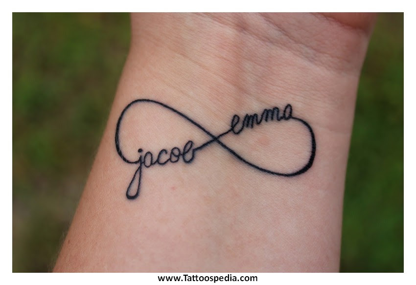 Infinity Tattoo With Names Generator