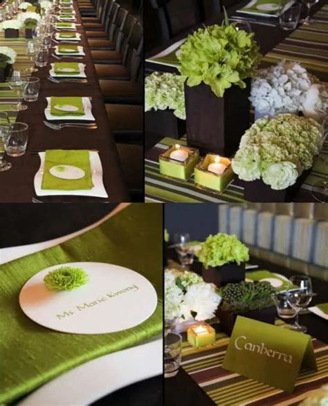Wedding Accessories Ideas: Modern Wedding Decor / design