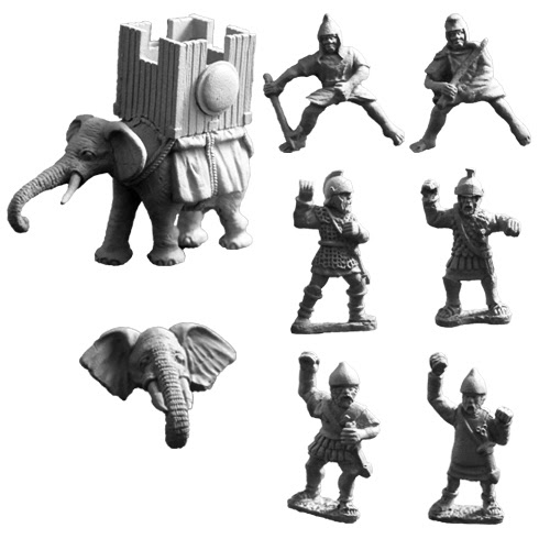 ANC20226 - Carthaginian Elephant with War Tower (B) - Click Image to Close