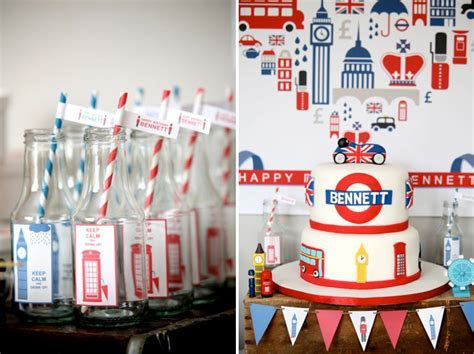"Kara's Party Ideas British inspired ""Keep Calm Carry On"