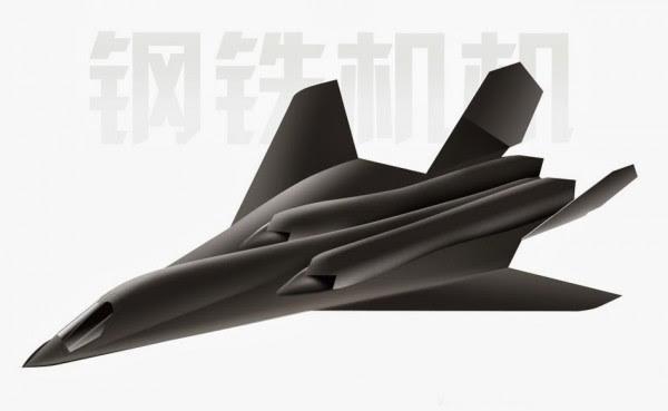 H-18 de mediano alcance supersónico bombardero furtivo 4