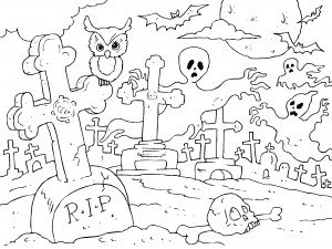 Dibujos De Halloween Para Colorear Paracolorearnet