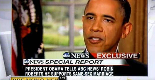 Obama Endorses SSM