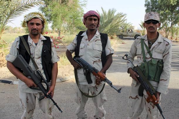 Soldados no Iêmen