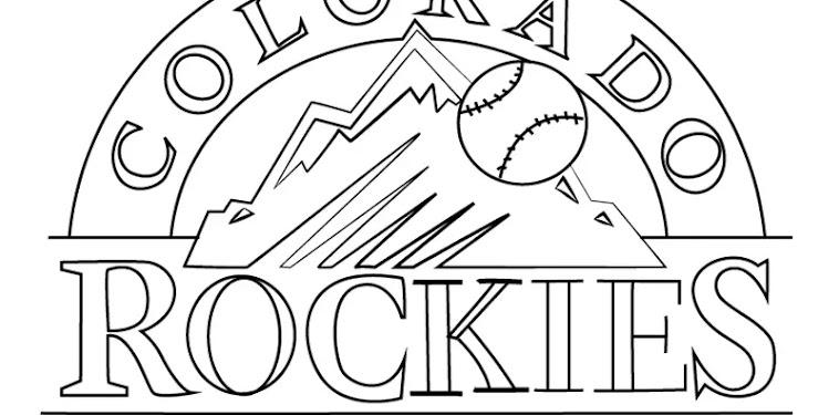 Colorado Rockies Logo Drawing