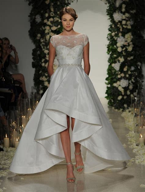 Get the Look: Whitney Port?s Chic High Low Wedding Dress