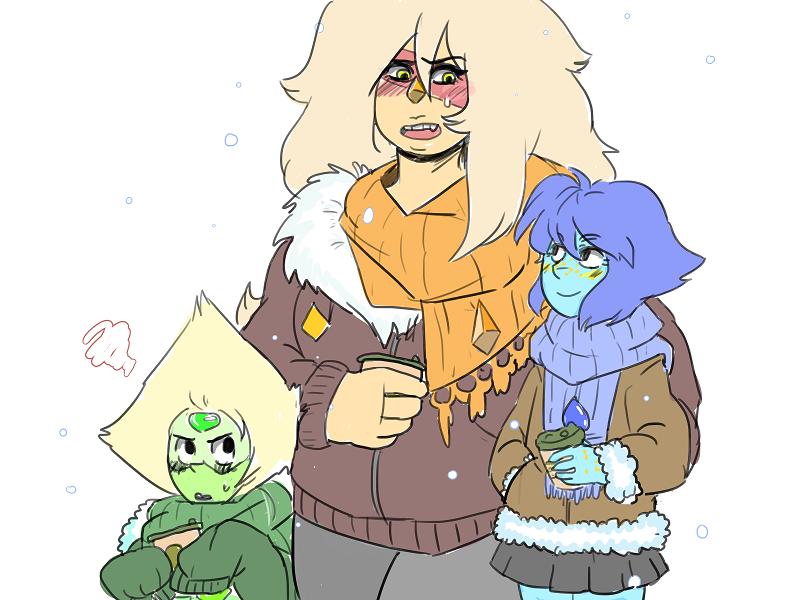 Winter Gems ! Dem scarfs, i like them !