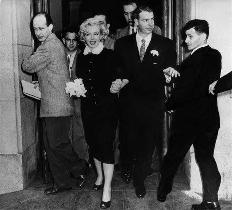 A Look Back At Marilyn Monroe And Joe DiMaggio's Wedding