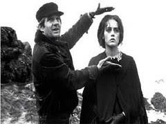 Francois Truffaut and Isabelle Adjani