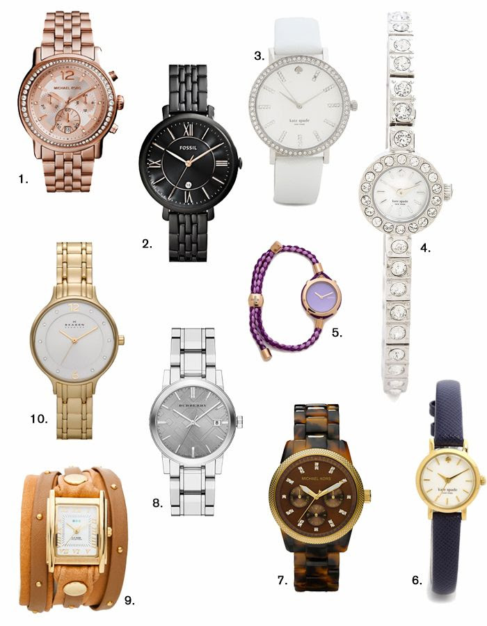 watch out // tagg's 10 favorite watch finds