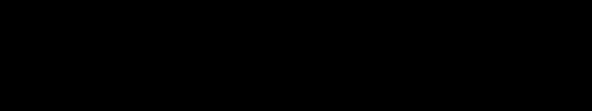 筆のライン線 4 罫線 飾り罫ライン素材 Free Line Design