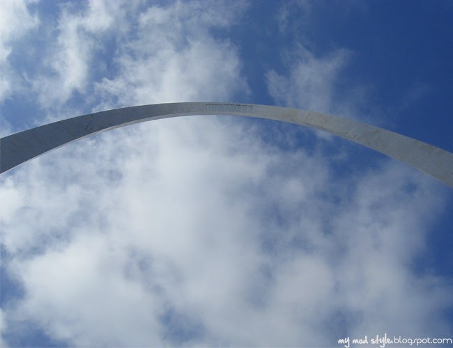 St Louis Under Arch