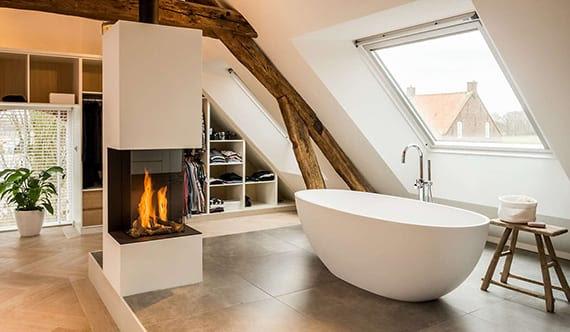 Kleines Bad Mit Dachschräge | Schönes Schlafzimmer Gestalten