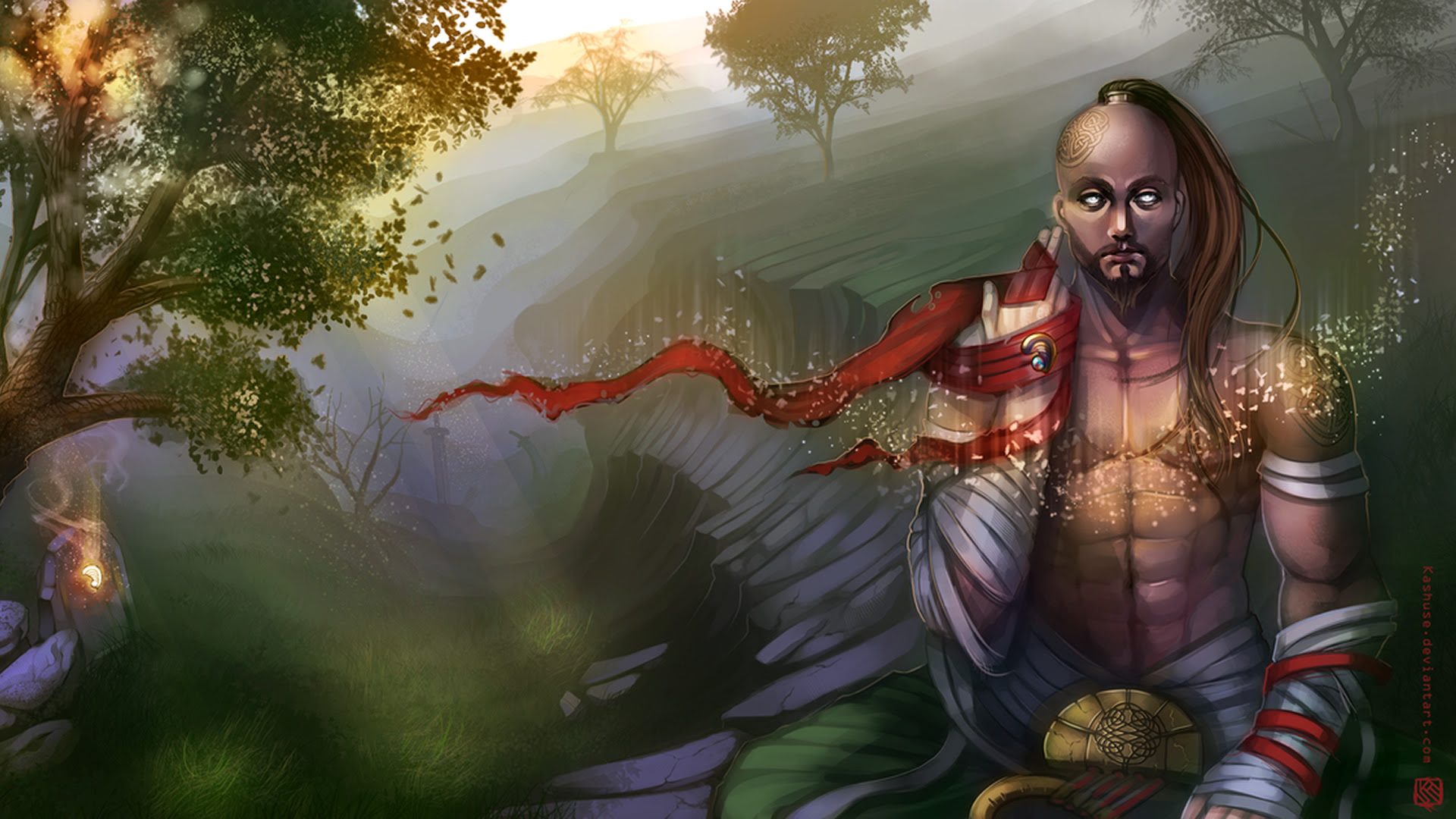 Lee Sins Safe Haven League Of Legends Wallpapers