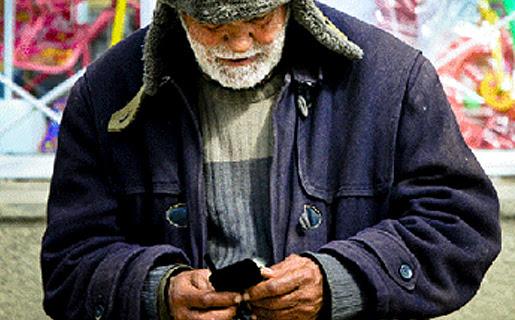 Este señor ya leyó nuestra nota y salió a comprarse su celular