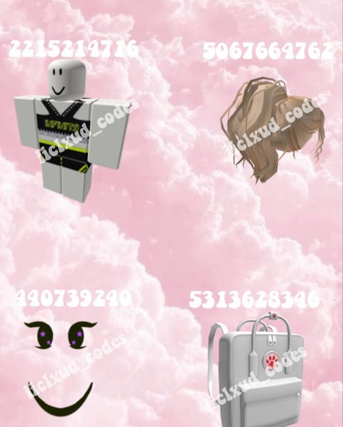 Bloxburg Codes For Clothes : Cute Aesthetic Outfit Codes For