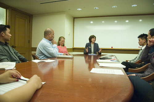 Pat Kernighan At Work: Burma Resolution At Oakland City Council
