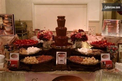 Chocolate Fountain / Caramel Apple Station / Cheese