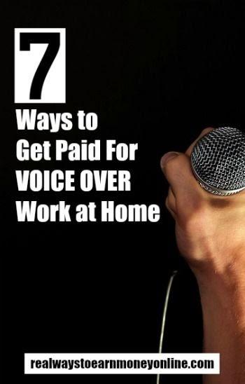 Voix off travail à domicile