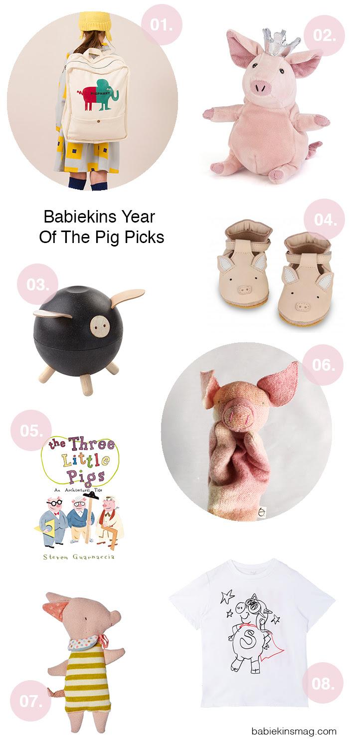 Babiekins Year Of The Pig Picks | Babiekins Magazine