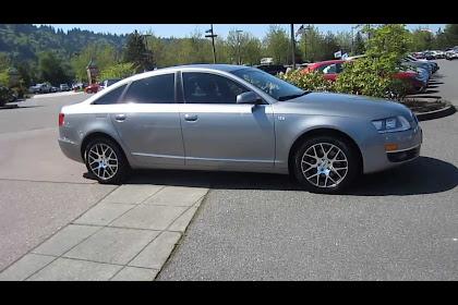 2006 Audi A6 Silver