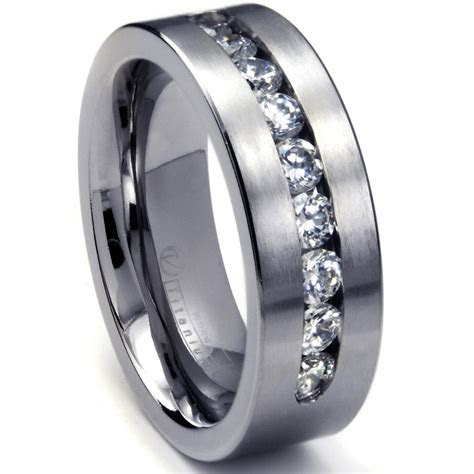 Mens White Gold Rings   Wedding, Promise, Diamond